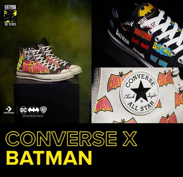 CONVERSE X BATMAN CHUCK 70 HIGH TOP
