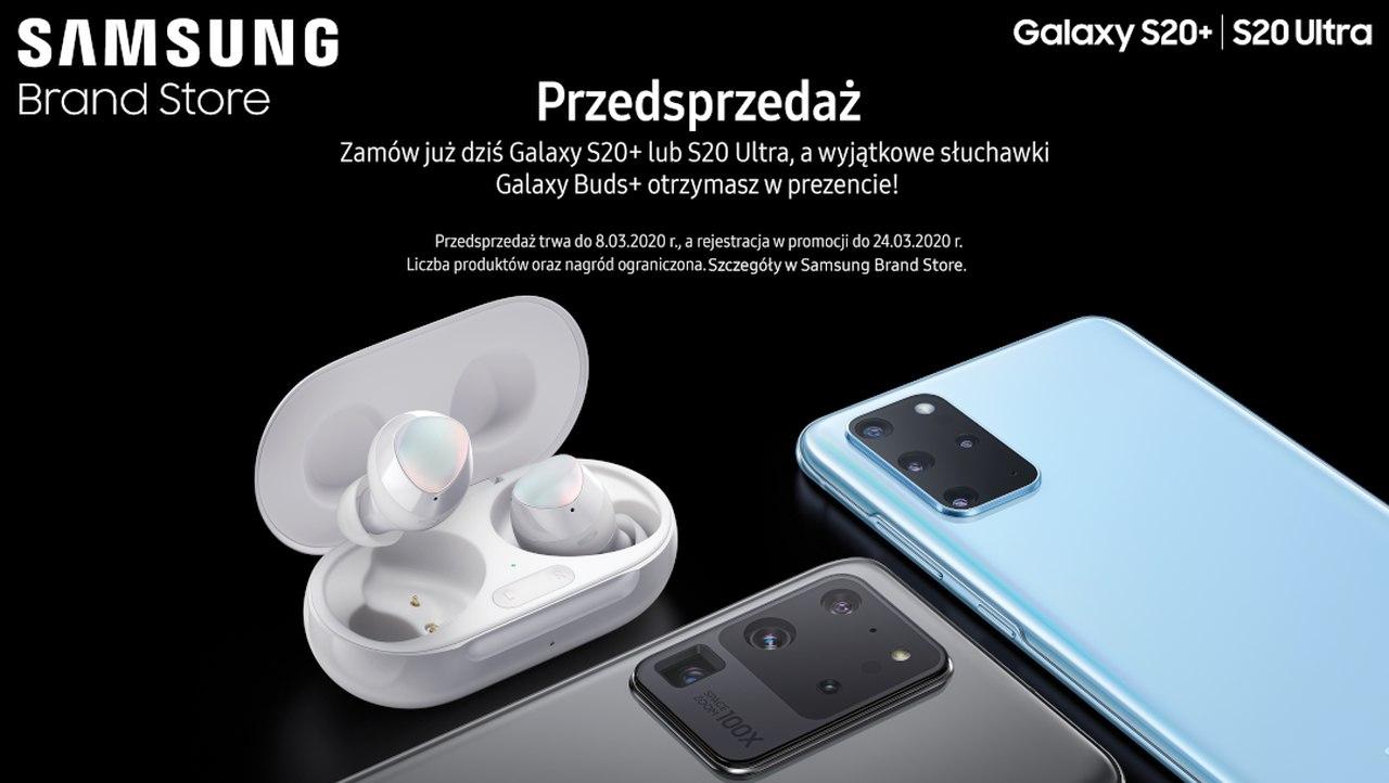 Przedsprzedaż Galaxy S20+/S20 Ultra!