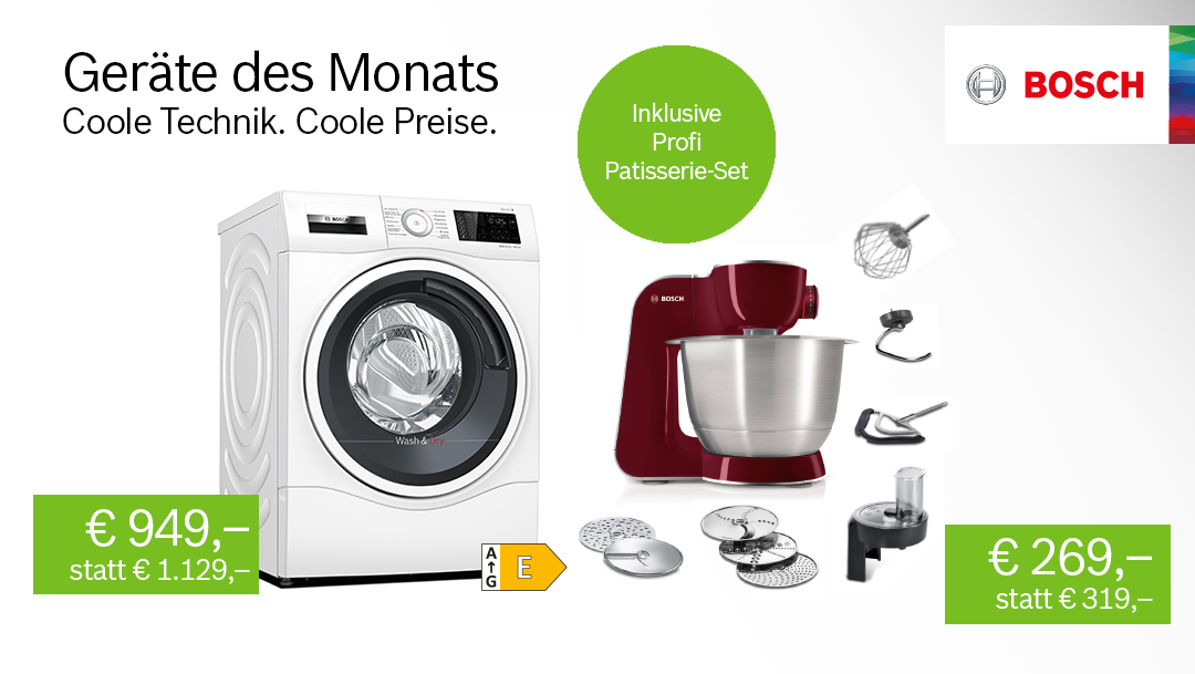 Bosch: Geräte des Monats