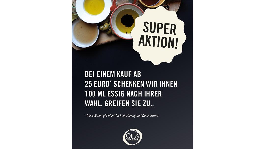 Oil & Vinegar: SUPER AKTION!