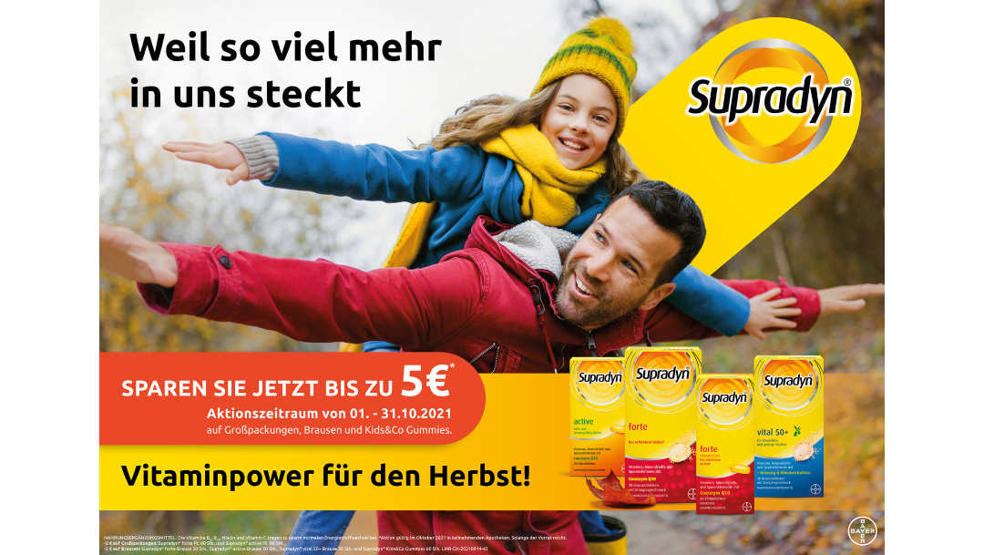 Citysüd Apotheke: Supradyn Vitaminwochenaktion