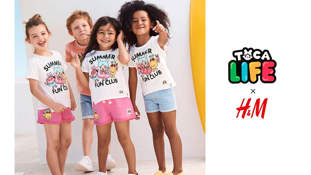 H&M & Toca Boca: Neue Kids-Kollektion