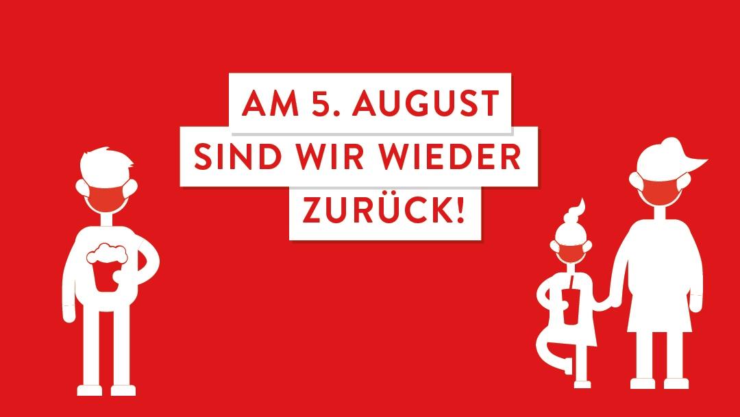 Die SCS KINOWELT öffnet wieder: Am 5. August!