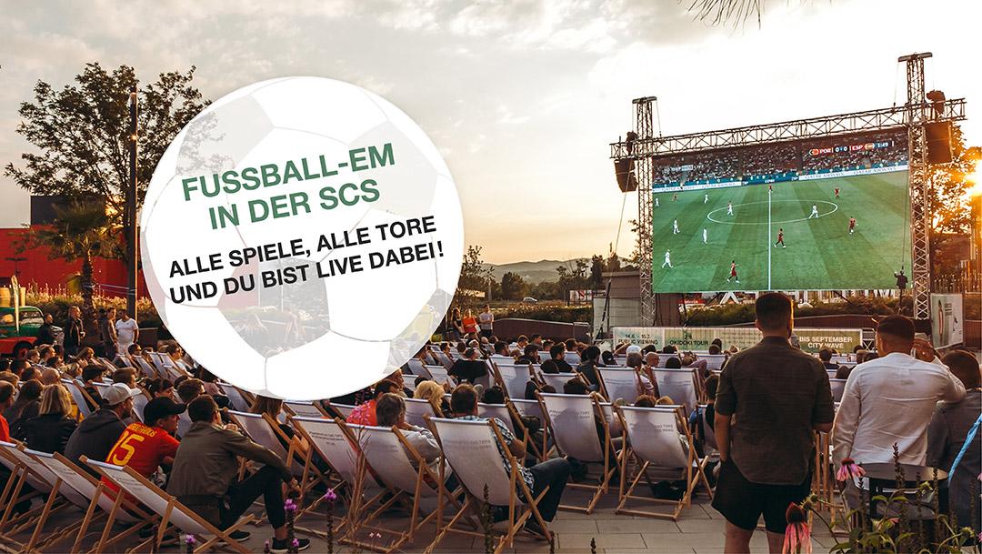 FUSSBALL-EUROPAMEISTERSCHAFT LIVE IN DER SCS