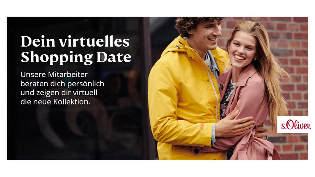 s.Oliver: Dein virtuelles Shopping Date