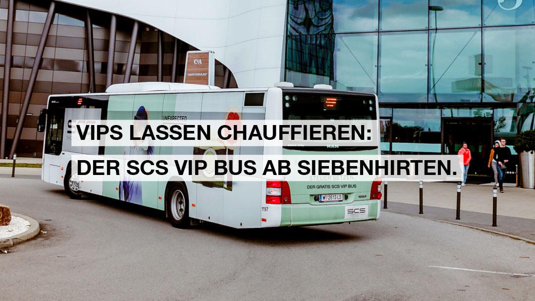 MIT DEM SCS VIP BUS DIREKT IN DIE SCS!