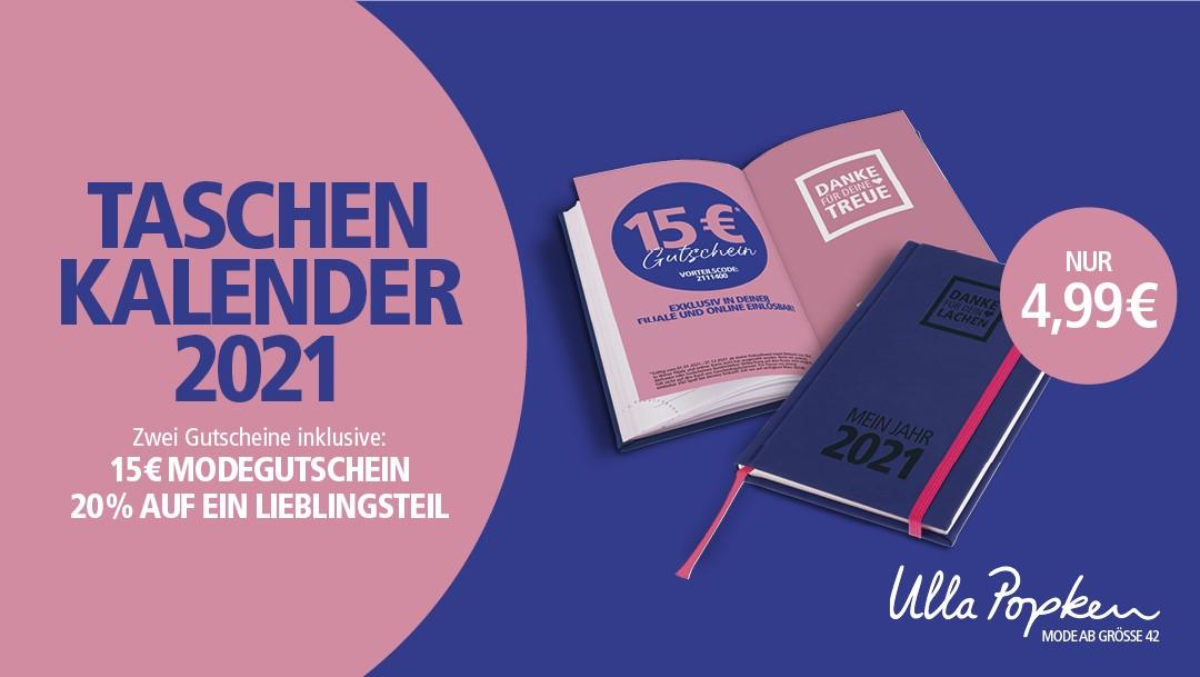 Ulla Popken: Taschenkalender & Gutscheine!