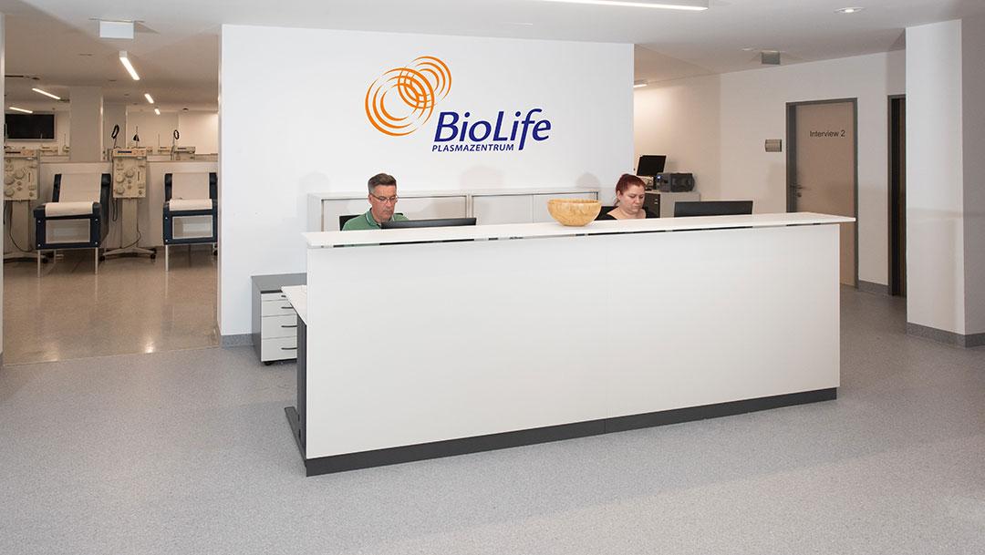 BioLife Plasmazentrum Donaustadt