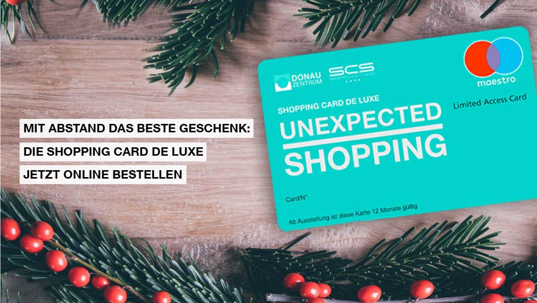 Die Shopping Card de Luxe