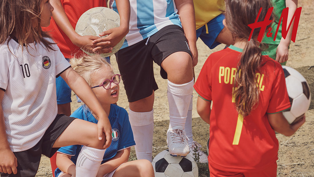 Fußballtrikots für Kids – H&M