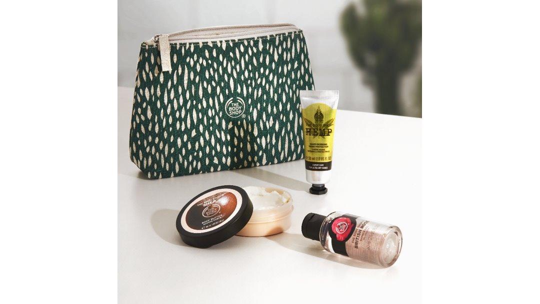 The Body Shop: Gratis Beauty Bag
