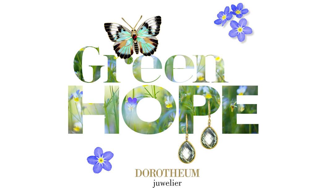 Green Hope bei Dorotheum Juwelier