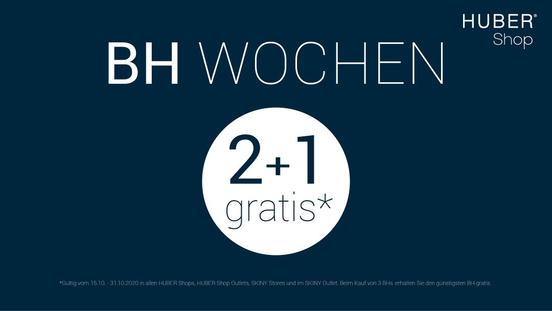 HUBER Shop: 2 + 1 gratis*