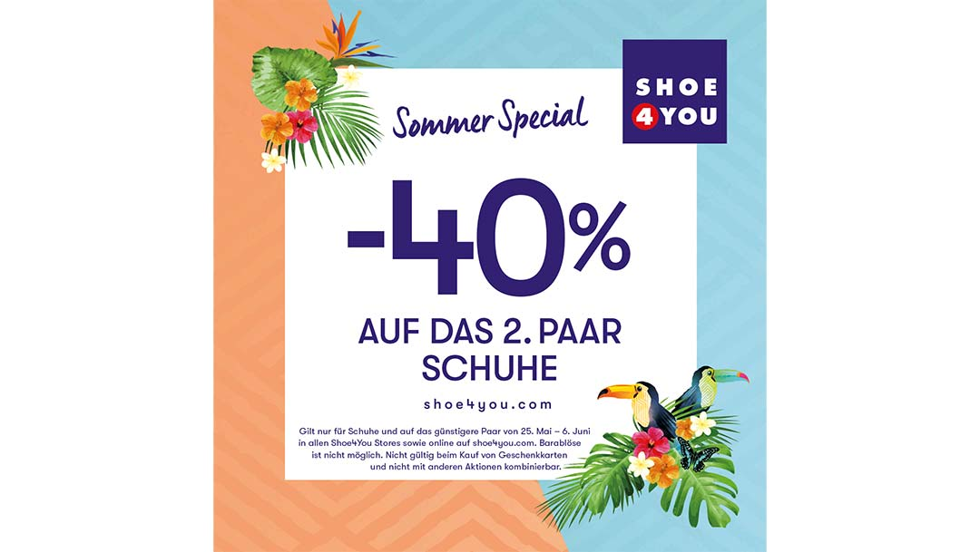 Shoe4You: Sommer Special