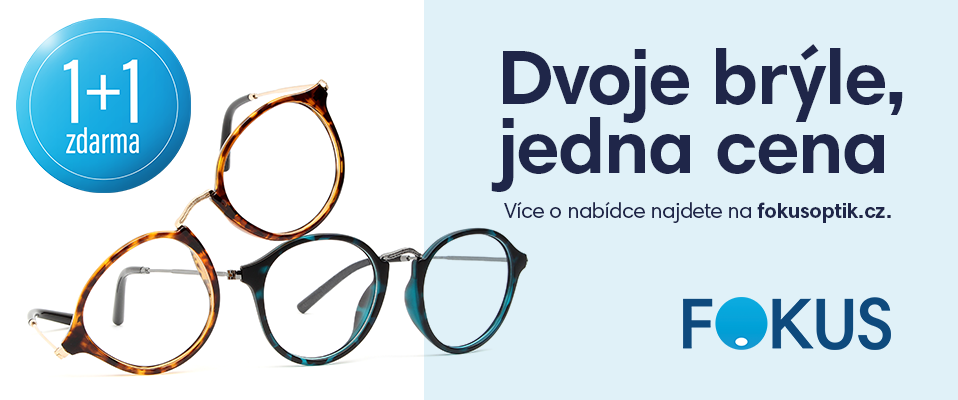 Přijďte si k nám pro nové brýle.