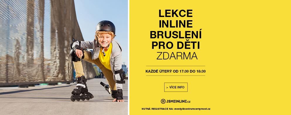 Lekce in-line bruslení pro děti