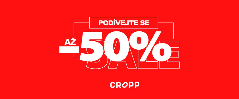Nakupujte v CROPP a ušetřete až 🔥 50% 🔥!