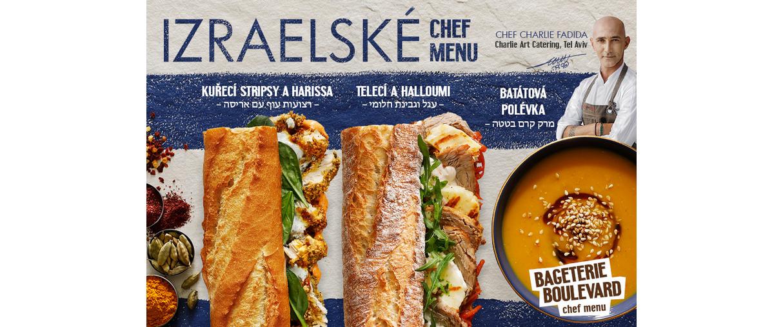 izraelské chef menu