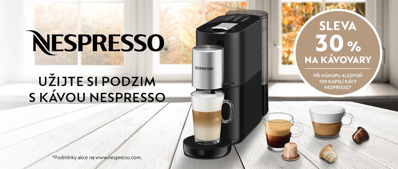 Vychutnávejte si kávu v pohodlí domova.