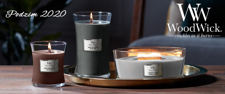 """Podzimní kolekce vonných svíček """"Večery u táboráku"""" přináší skvělou atmosféru posezení s přáteli u praskajícího ohně."""