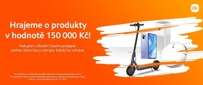 Nakupte v Xiaomi prodejně, setřete stírací los a vyhrajte, každý los je totiž výherní!