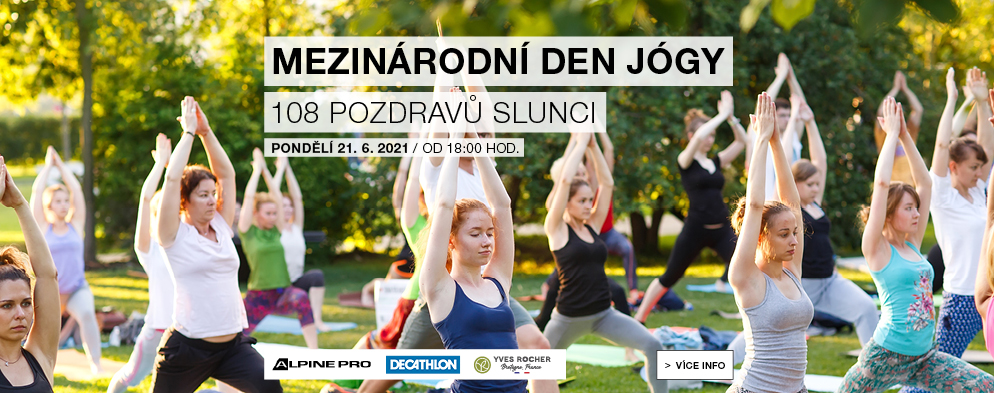 Odstartujte letní pohodu s Mezinárodním dnem jógy