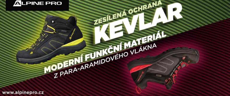 Kevlarová obuv ALPINE PRO