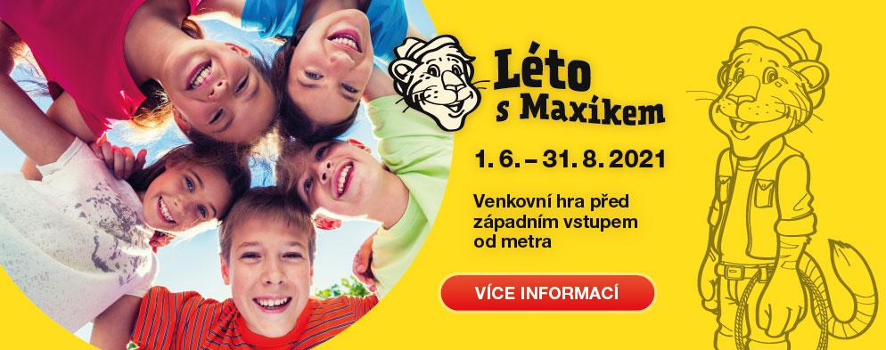 Léto s Maxíkem – Splň Maxíkovy úkoly a vyhraj krásné ceny již od 1. června!