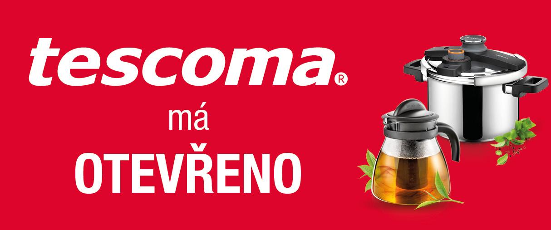 Tescoma má otevřeno!!!
