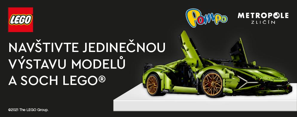 Navštivte jedinečnou výstavu modelů a soch LEGO