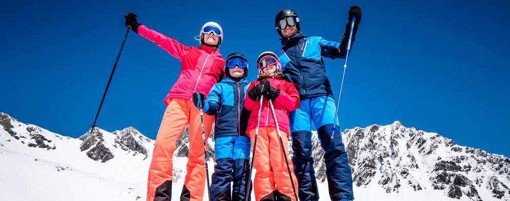 Jak obléknout děti na lyže, aby byly spokojené?