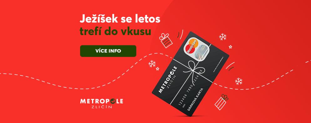 Nadělte k Vánocům Dárkovou kartu a trefte se do vkusu!