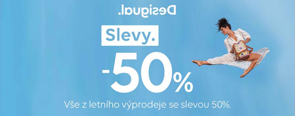 Výprodej se slevou 50%
