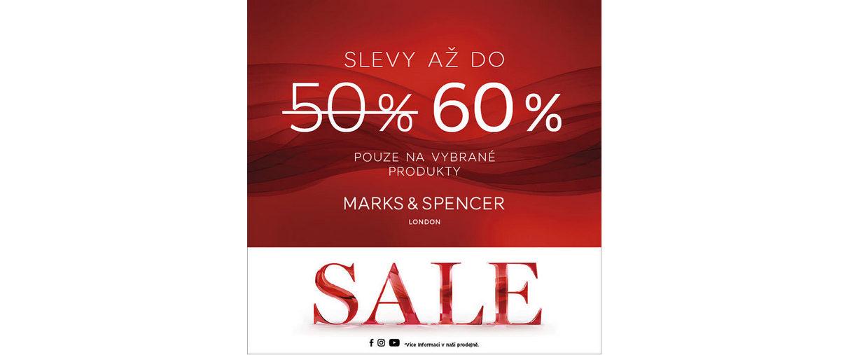 Marks&Spencer slevy