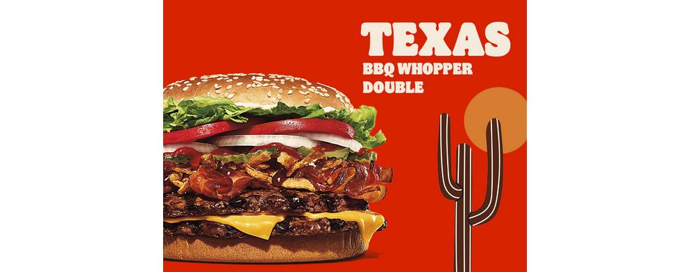 ŽHAVÁ NOVINKA: Texas BBQ Whopper