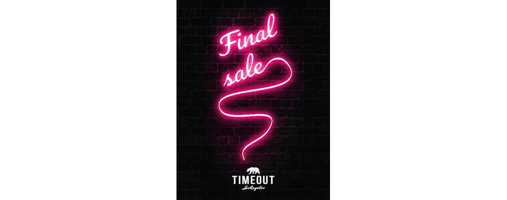 Time Out FINAL SALE