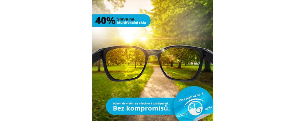 -40 % na multifokální skla