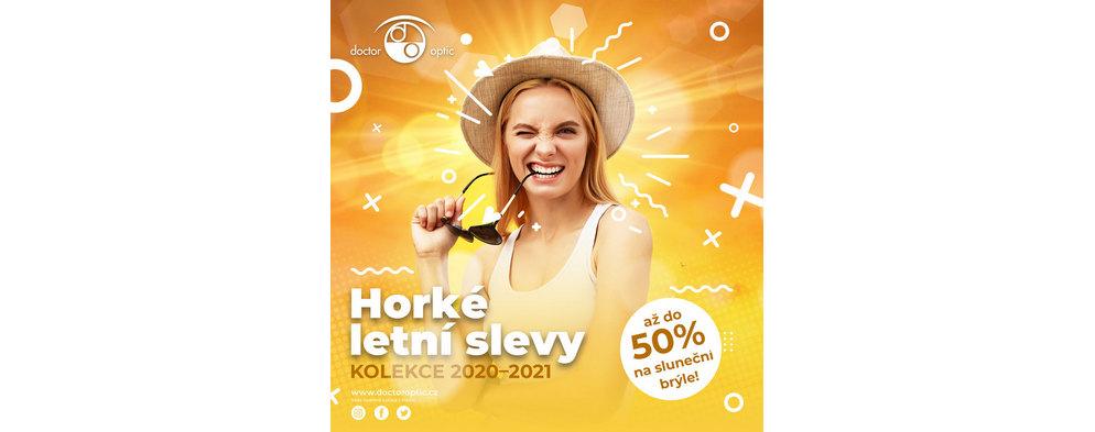 Horké letní slevy až -50 % na sluneční brýle