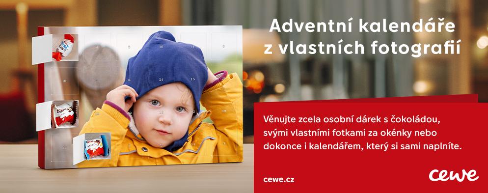 Vlastní adventní kalendář s fotografií