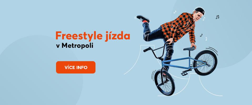 Freestyle jízda s Metropolí