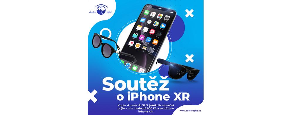 Soutěžte v Doctor Optic o iPhone XR