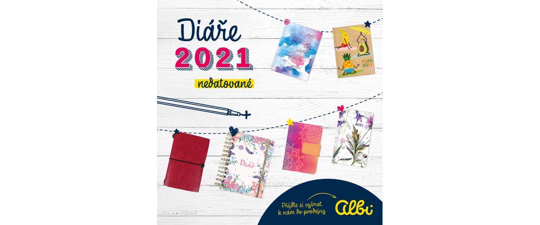 Nová kolekce Albi diářů pro rok 2021