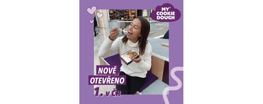 My Cookie Dough otevírá první pobočku v ČR