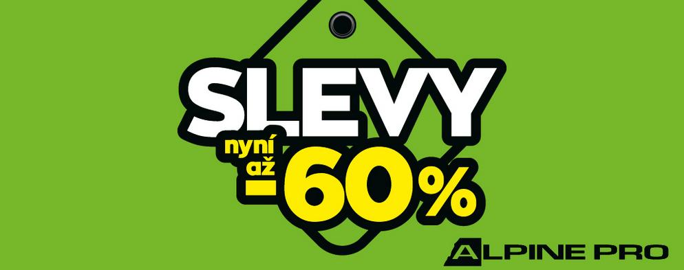 Slevy až -60 % v ALPINE PRO.