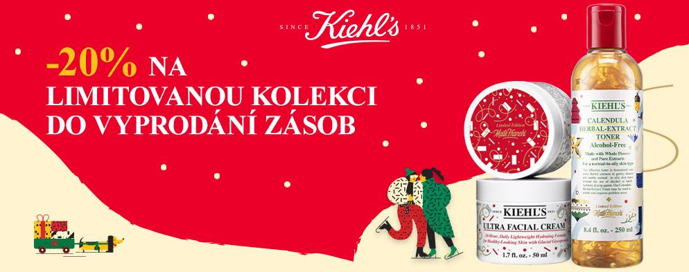 Do nového roku vám Kiehl's přeje krásnou i zdravou pleť.