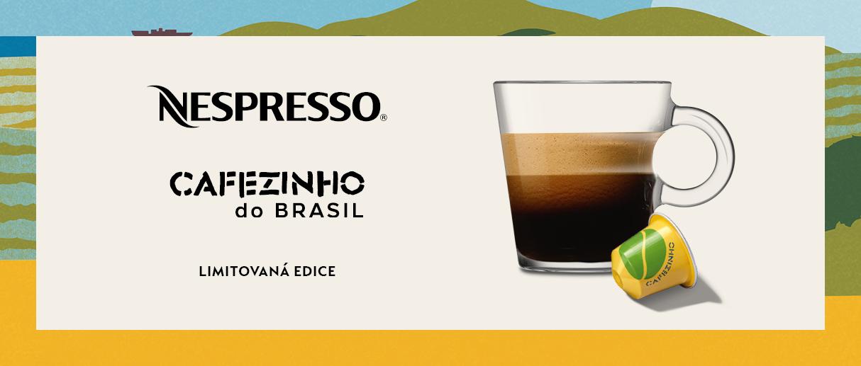 Ochutnejte limitovanou edici Cafezinho do Brasil
