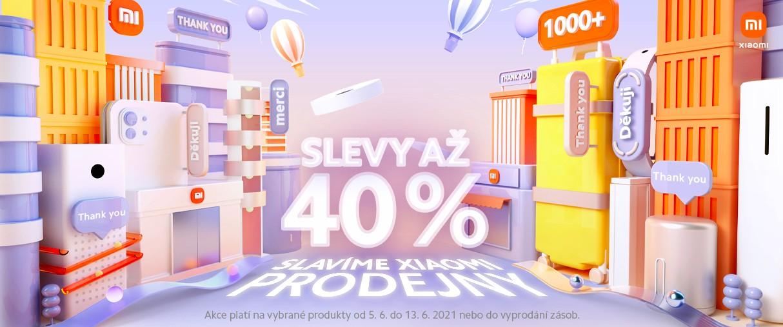 V prodejně Xiaomi se slaví! Přijďte si pro slevy až 40 %...