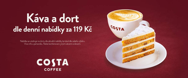 Letní nabídka vCosta Coffee