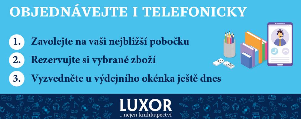 OBJEDNÁVEJTE U NÁS I TELEFONICKY