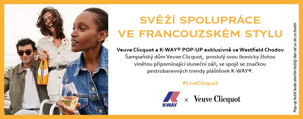 Veuve Clicquot POP-UP exkluzivně ve Westfield Chodov